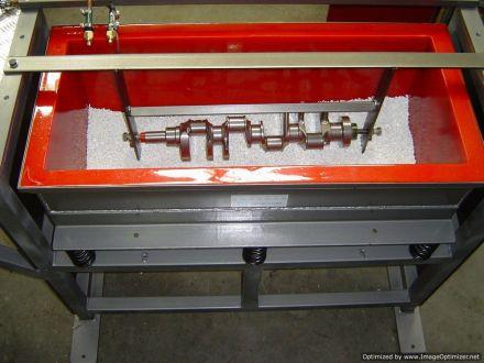 Fixtured part BV vibratory