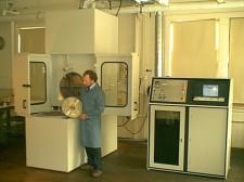 Jim A. with Test Machine #2
