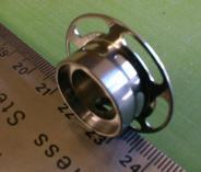 titanium heart-flange flange 1