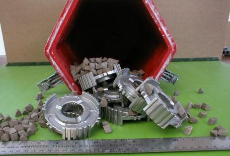Centrifugal Barrel Finish Application: Hardened Powdered Metal Gears