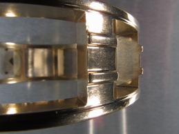 Bearing Cage -after high energy CBF processing