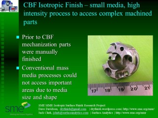 CBF complex machined part